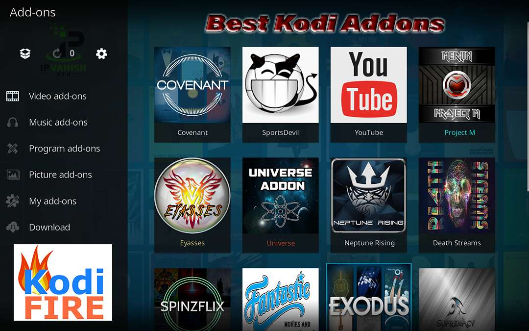 how to use kodi on firestick exodus
