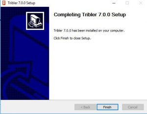 Finish Tribler Install process