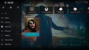 Install Joker Kodi Build