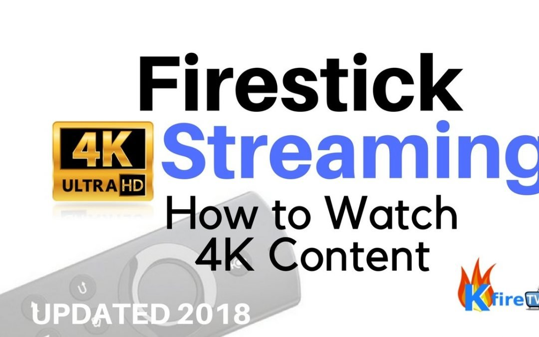 Fire stick 4k streaming guide