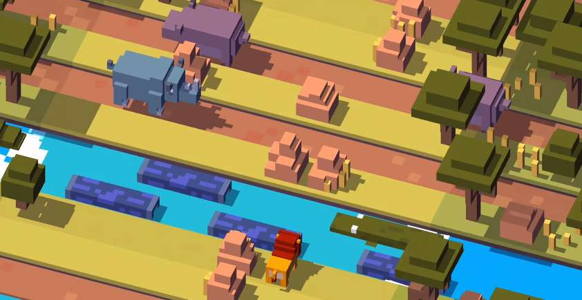 crossy road firestick