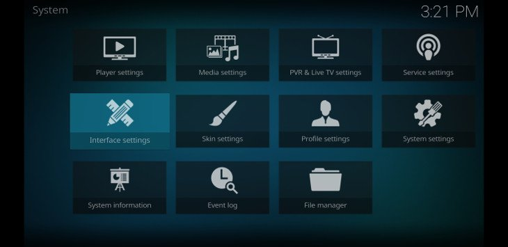 best kodi skin settings