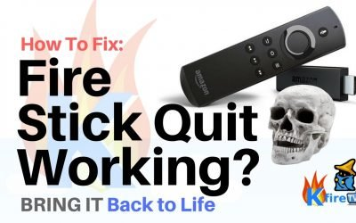 Firestick Quit Working?  Here's the EASY Way to Fix It!