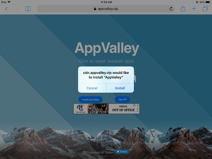 app valley ios