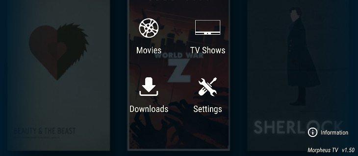 morpheus tv firestick