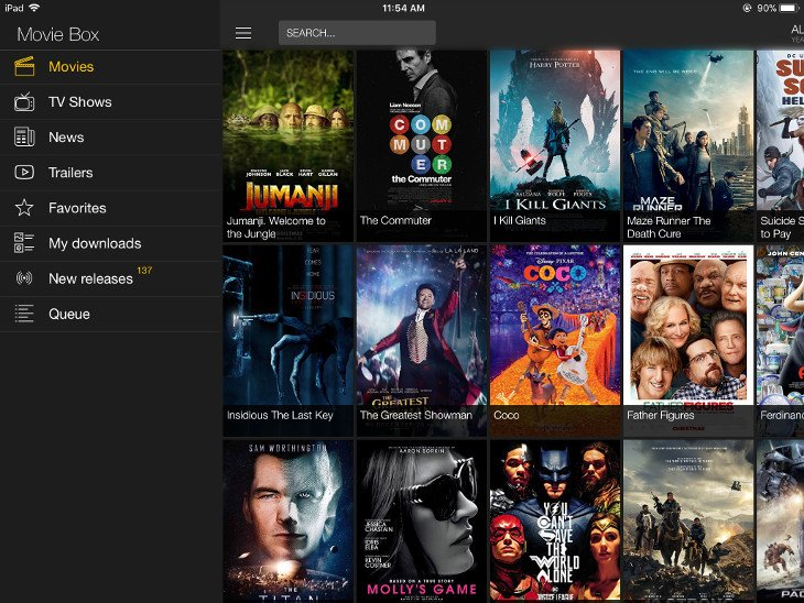 moviebox ipad