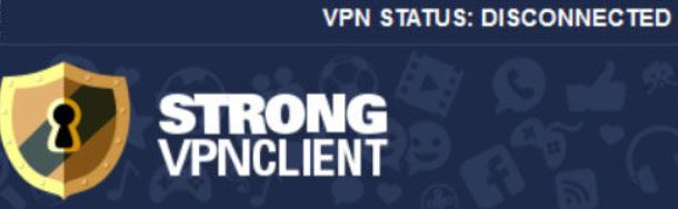 To setup Strong VPN Windows 10, click Connect.