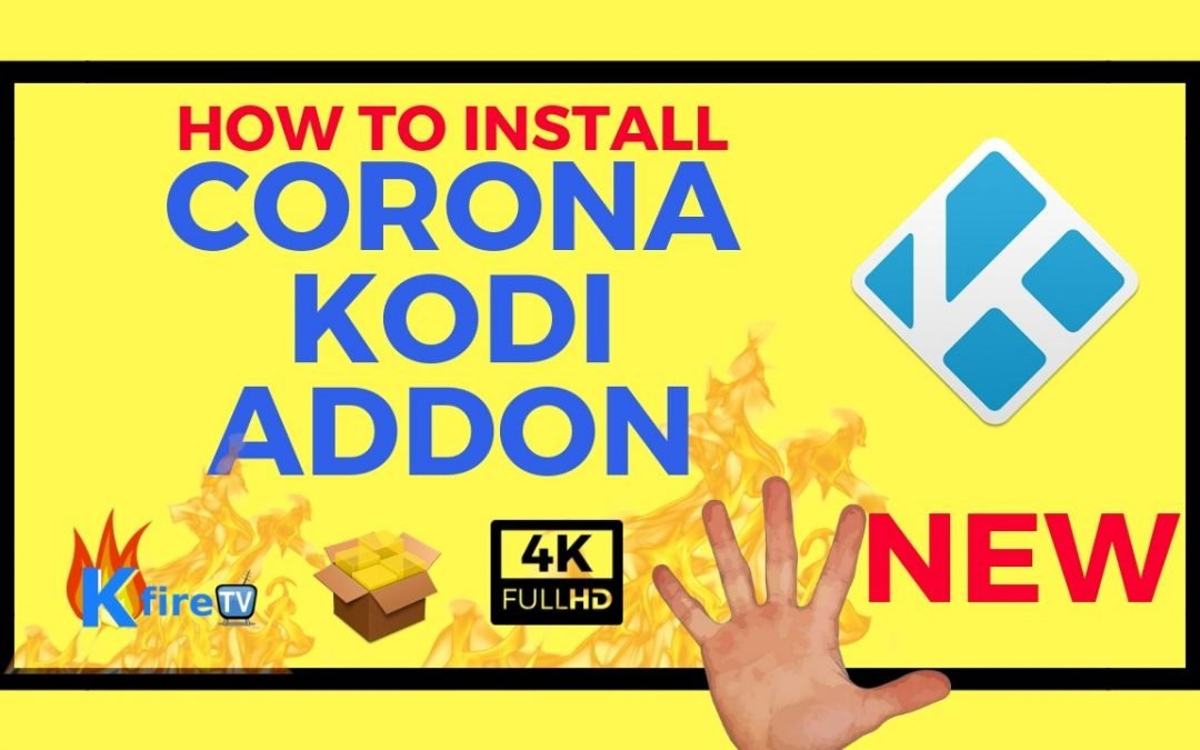 How to Install Corona Kodi Addon
