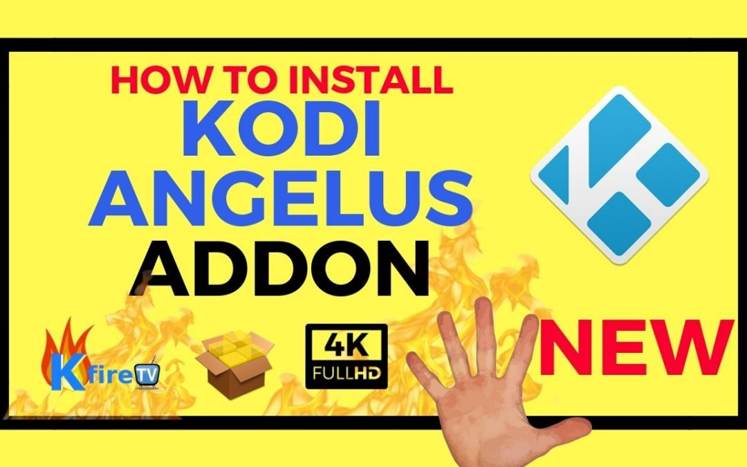 How to Install Angelus Kodi Addon