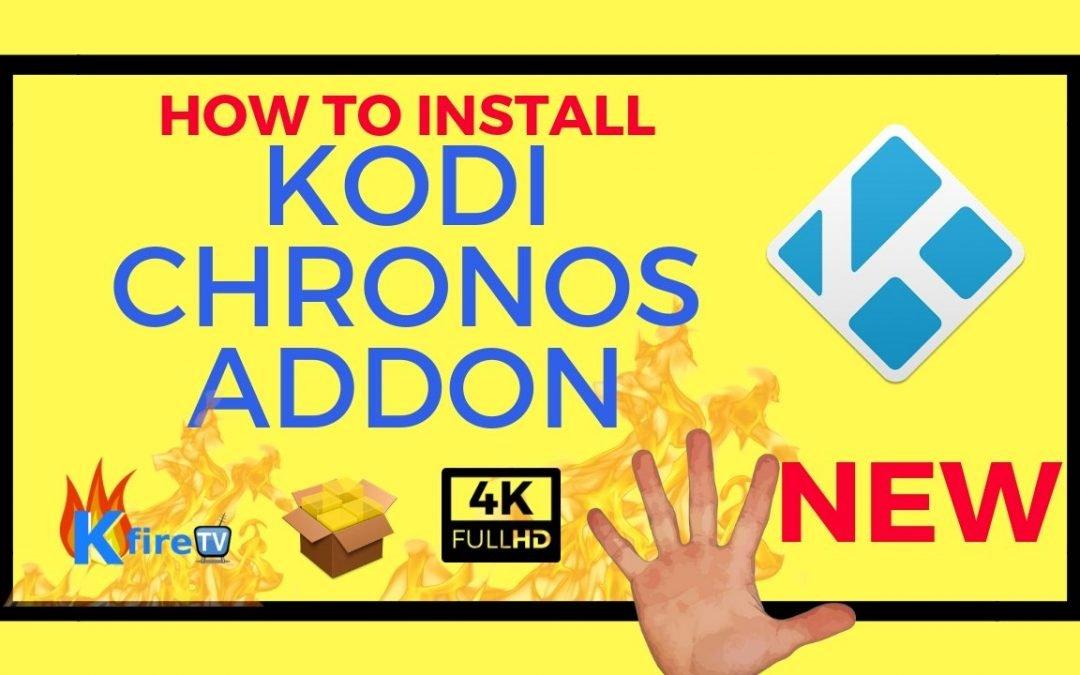 How to Install Kodi Chronos Live TV IPTV Addon | KodiFireTVStick com