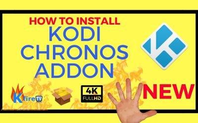 How to Install Kodi Chronos Live TV IPTV Addon