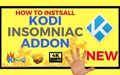 How to Install Kodi Insomniac Addon