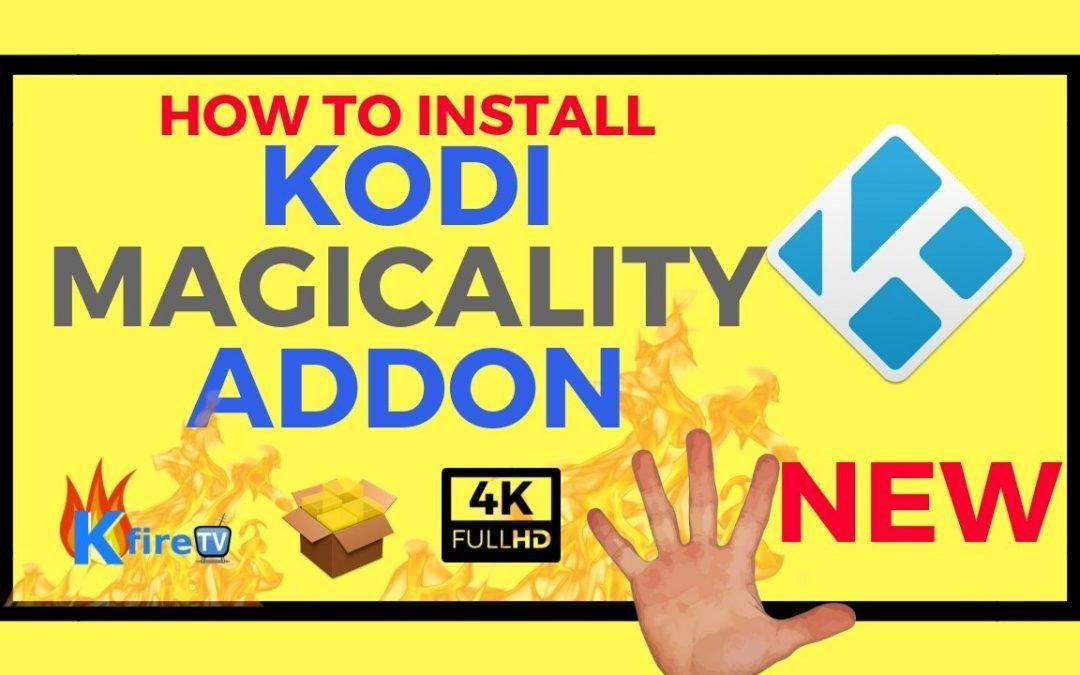How to Install Kodi Magicality Addon