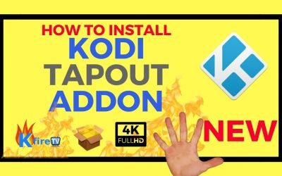 How to Install Kodi Tapout Addon for MMA Streams