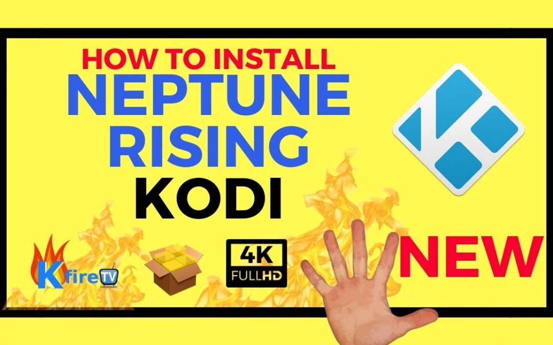 How to Install Kodi Neptune Rising with Kodi 18 Leia Beta 1
