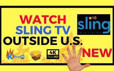How to Watch Sling TV in the UK by Using a VPN
