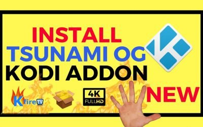 How to Install Tsunami OG Kodi Addon