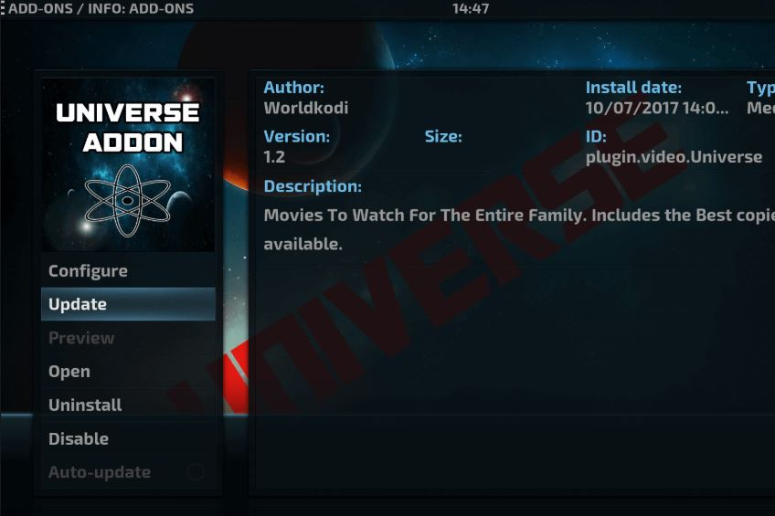 How to Install Kodi Universe HD Addon in 5 Minutes