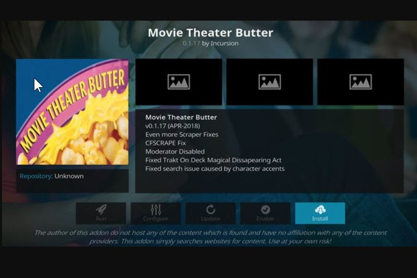 How to Install Kodi Movie Theater Butter Addon in 5 Minutes