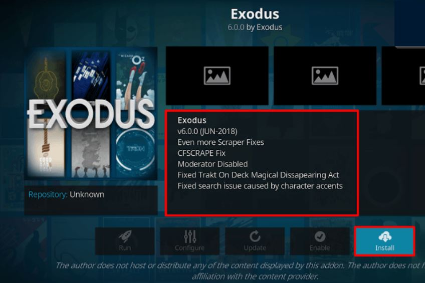How to Install Kodi Exodus 6.0 Addon in 5 Minutes