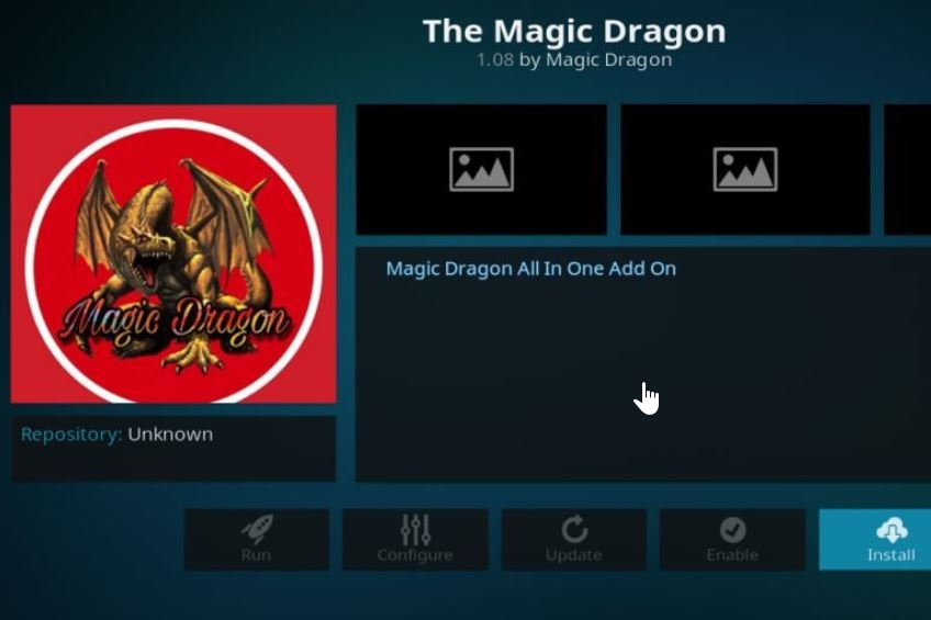 How to Install Kodi Magic Dragon Addon