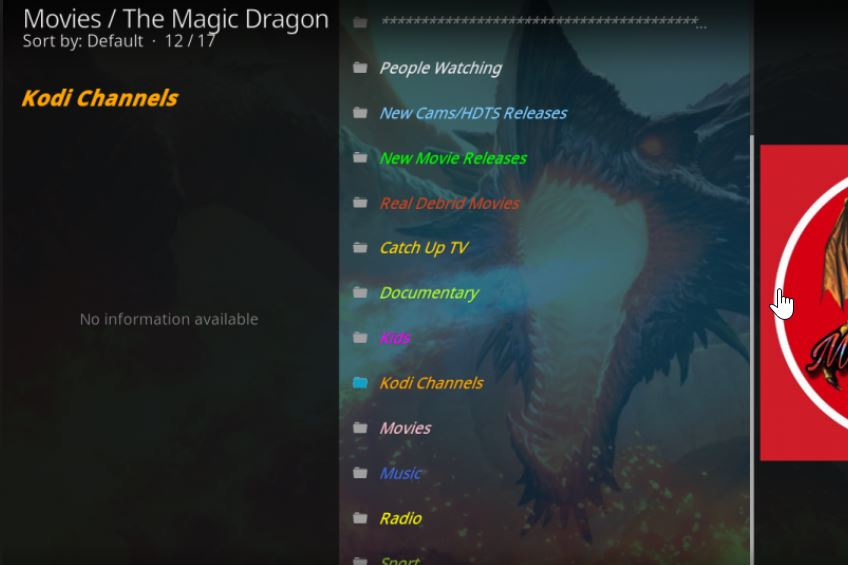 Kodi Magic Dragon Addon: #1 in the Best Kodi Addons ranking