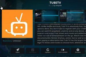 Kodi Tubi TV Addon
