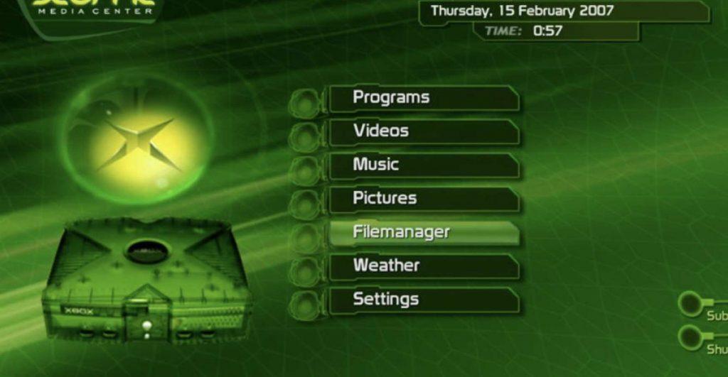 XBMC for Original Xbox