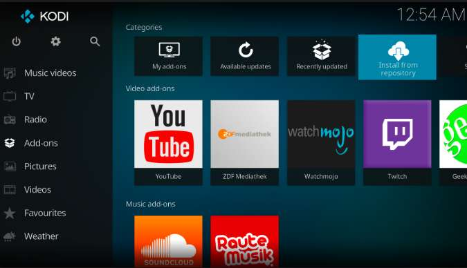 How To Easily Install Kodi TV App On Android Device + ADD-ONS
