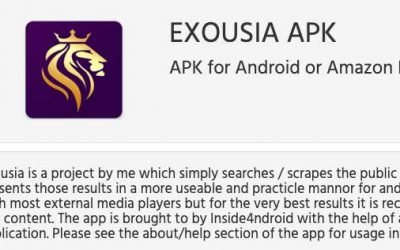 How to Install Exousia APK on Firestick for Movies, TV Shows, Live TV, and Sports
