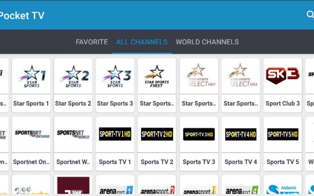 Pocket TV APK: Download Now for Firestick / Android | KFTV