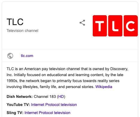 TLC Channel