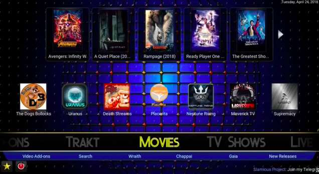 Slamious Kodi Build: Install My Favorite New Kodi Fork APK!