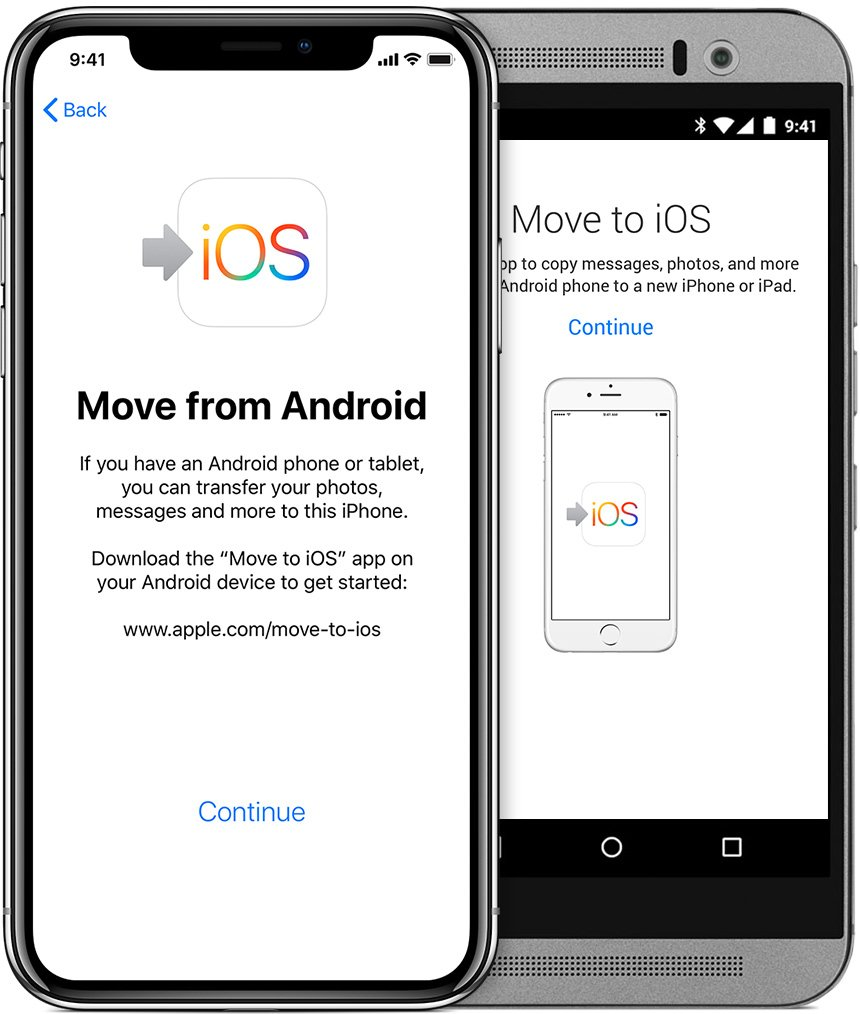 Transfer Contacts from Android to iPhone using Move To IOS App