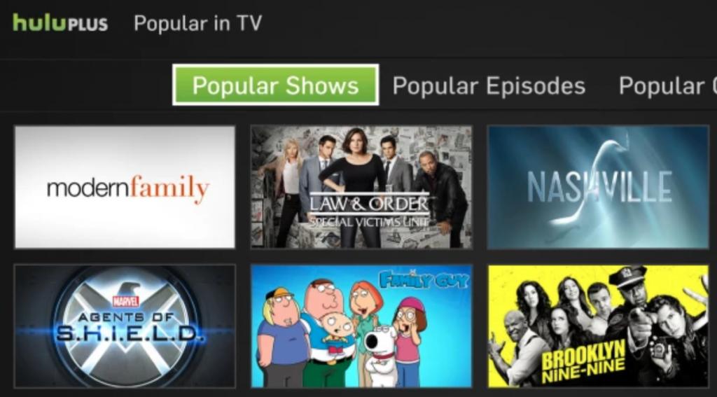 Xbox One Hulu app