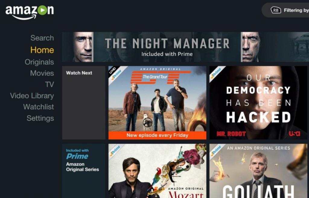 Amazon Xbox One app