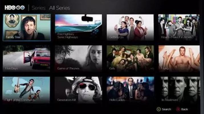 Xbox One HBO Go app