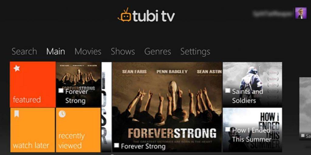 Tubi TV Firestick app