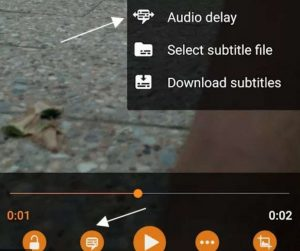 VLC Audio Out of Sync