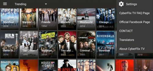 Cyberflix TV for Firestick