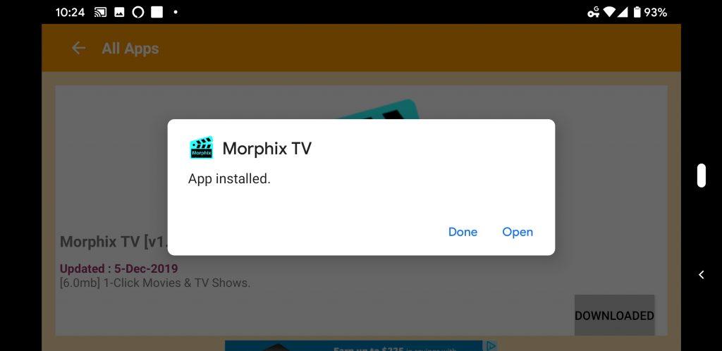 Morphix TV Firestick