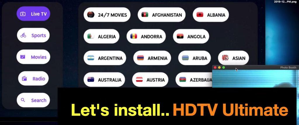 HDTVUltimate APK Firestick