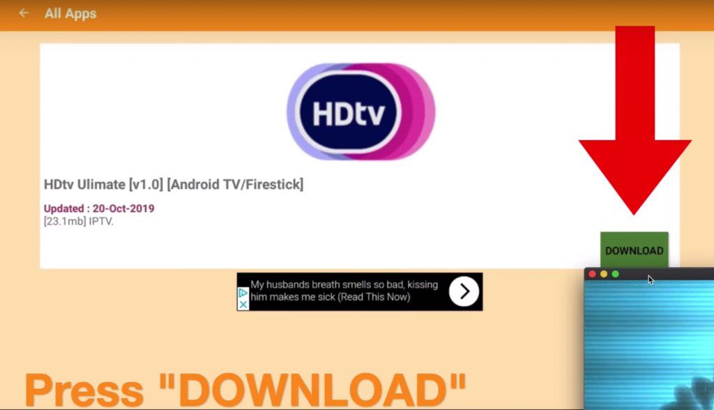 Download HDTV Ultimate APK v1.0 Firestick Android