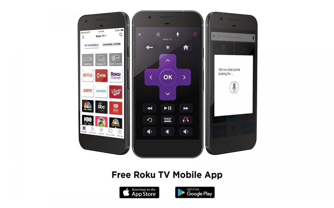 Roku App Screens