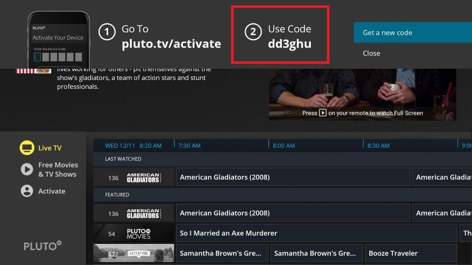 Pluto TV Activate 2