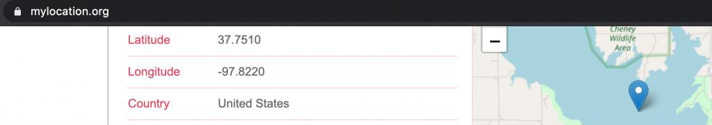 TikTok VPN changes location and IP address