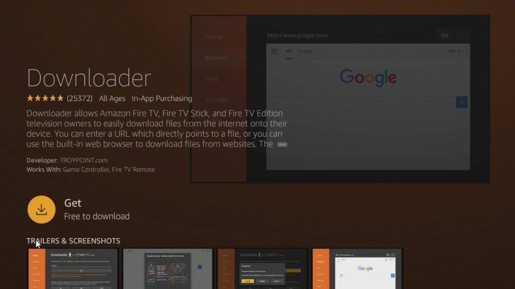 Downloader best browser for Firestick
