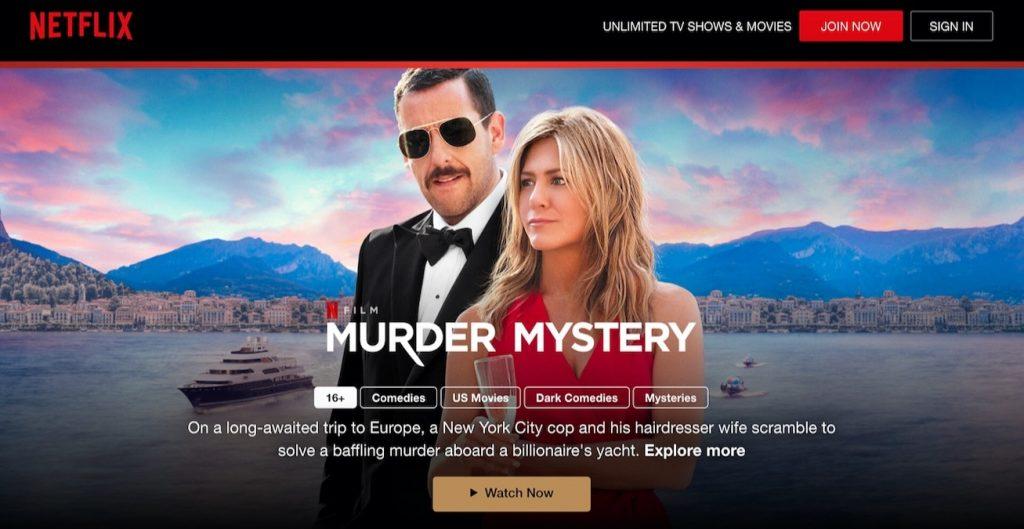 Murdery Mystery Free Netflix