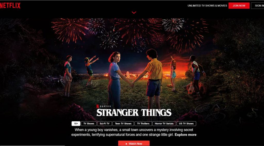 Netflix Free Stranger Things