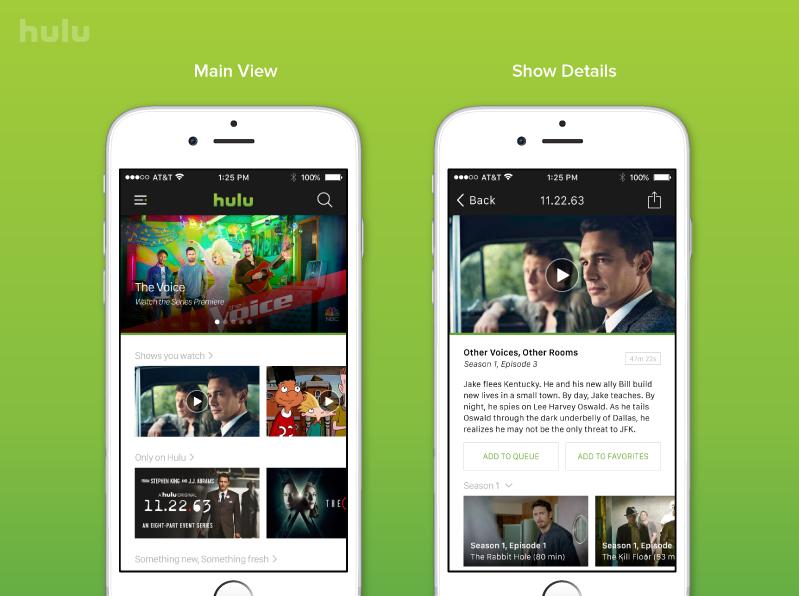 Hulu iOS UK